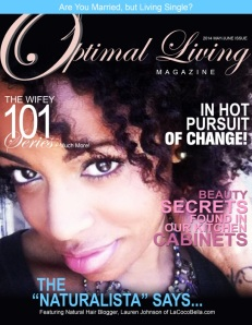 2014 Optimal Living Magazine MayJune Cover -
